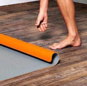 Self-rolling Yoga Mat